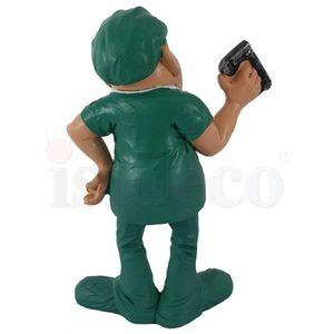 Funny Job - Chirurg Arzt mit Tacker in der Hand 16cm – Bild 4