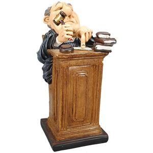 Funny Life - Richter am Pult mit Hammer - Schuldig! 15Cm – Bild 1