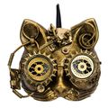 Steampunk Maske Katze Steam-Cat 18cm 001