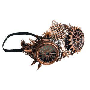 Steampunk Maske Brille Eule Tekno Owl 17cm