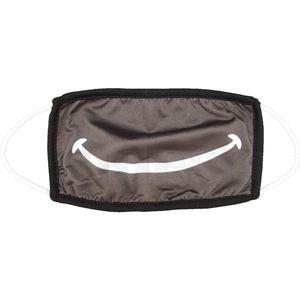 2er Set Mund-Nasen-Maske Reißverschluss & Smile waschbar einz. verpackt – Bild 3