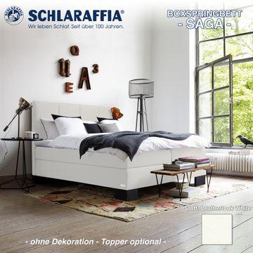 Schlaraffia Boxspringbett Saga Partnermatratze 160x200 cm – Bild 6