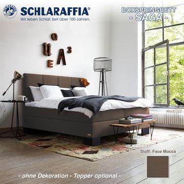 Schlaraffia Boxspringbett Saga Partnermatratze 200x200 cm – Bild 3