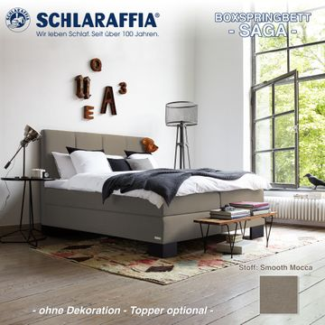Schlaraffia Boxspringbett Saga Partnermatratze 200x220 cm – Bild 8