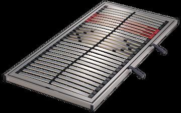 Schlaraffia Classic 28 Side Lift rechts NV 5-Zonen Lattenrost 100x190 cm – Bild 1