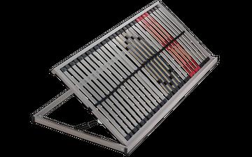 Schlaraffia Classic 28 Side Lift links NV 5-Zonen Lattenrost 100x190 cm – Bild 4