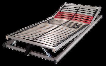 Schlaraffia Classic 28 Gasdruck 5-Zonen verstellbarer Lattenrost 80x210 cm – Bild 1