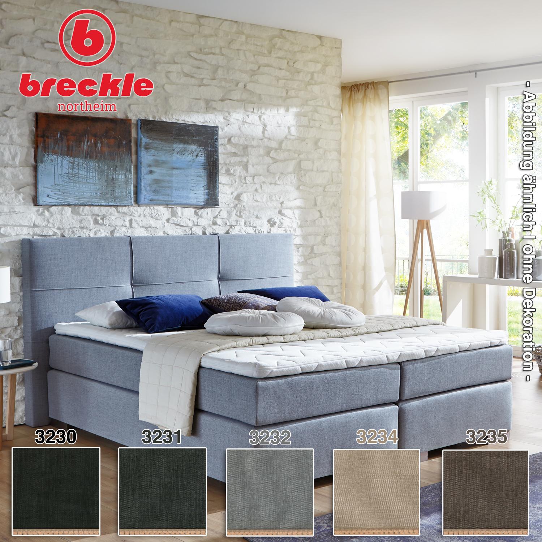 breckle boxspringbett cinderella 180x210 cm boxspringbetten breckle konfigurierbar. Black Bedroom Furniture Sets. Home Design Ideas