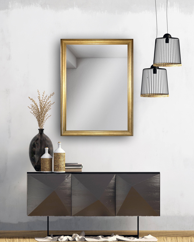 Wandspiegel Barock Rahmen Kristall Wand Spiegel C