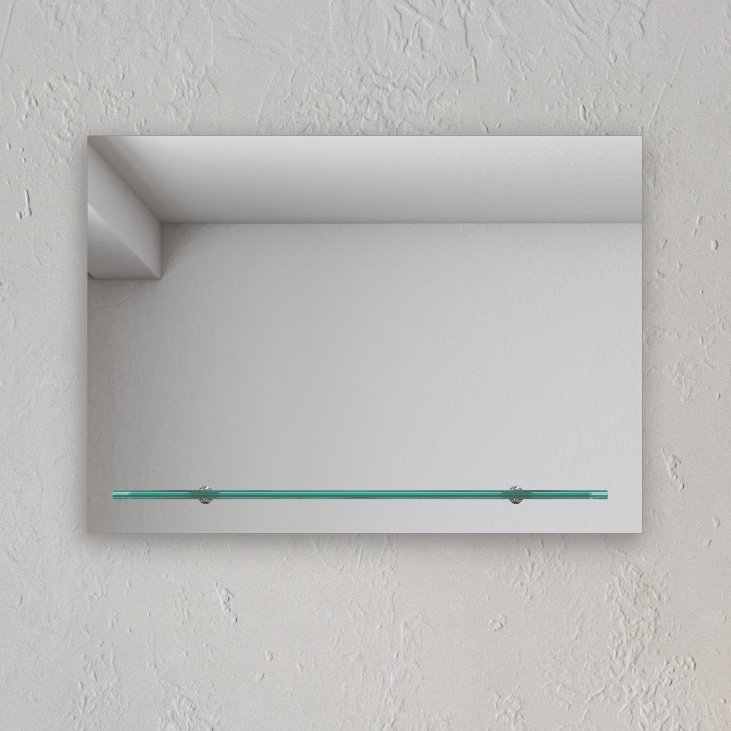Wandspiegel Badezimmer Badspiegel Spiegel Mit Glasablage