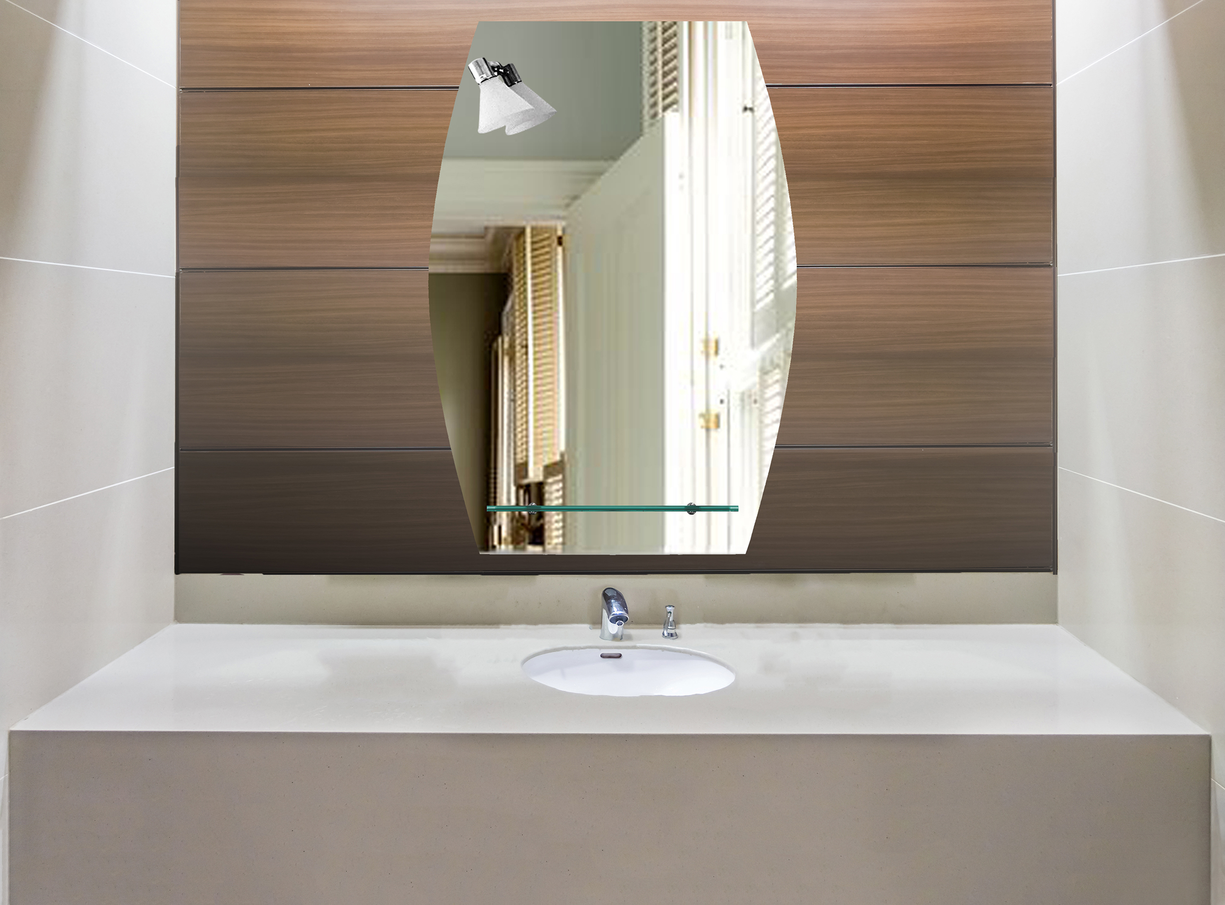 Badspiegel Mit Ablage Und Licht.Badspiegel Spiegel Mit Ablage Und Beleuchtung Badezimmerspiegel