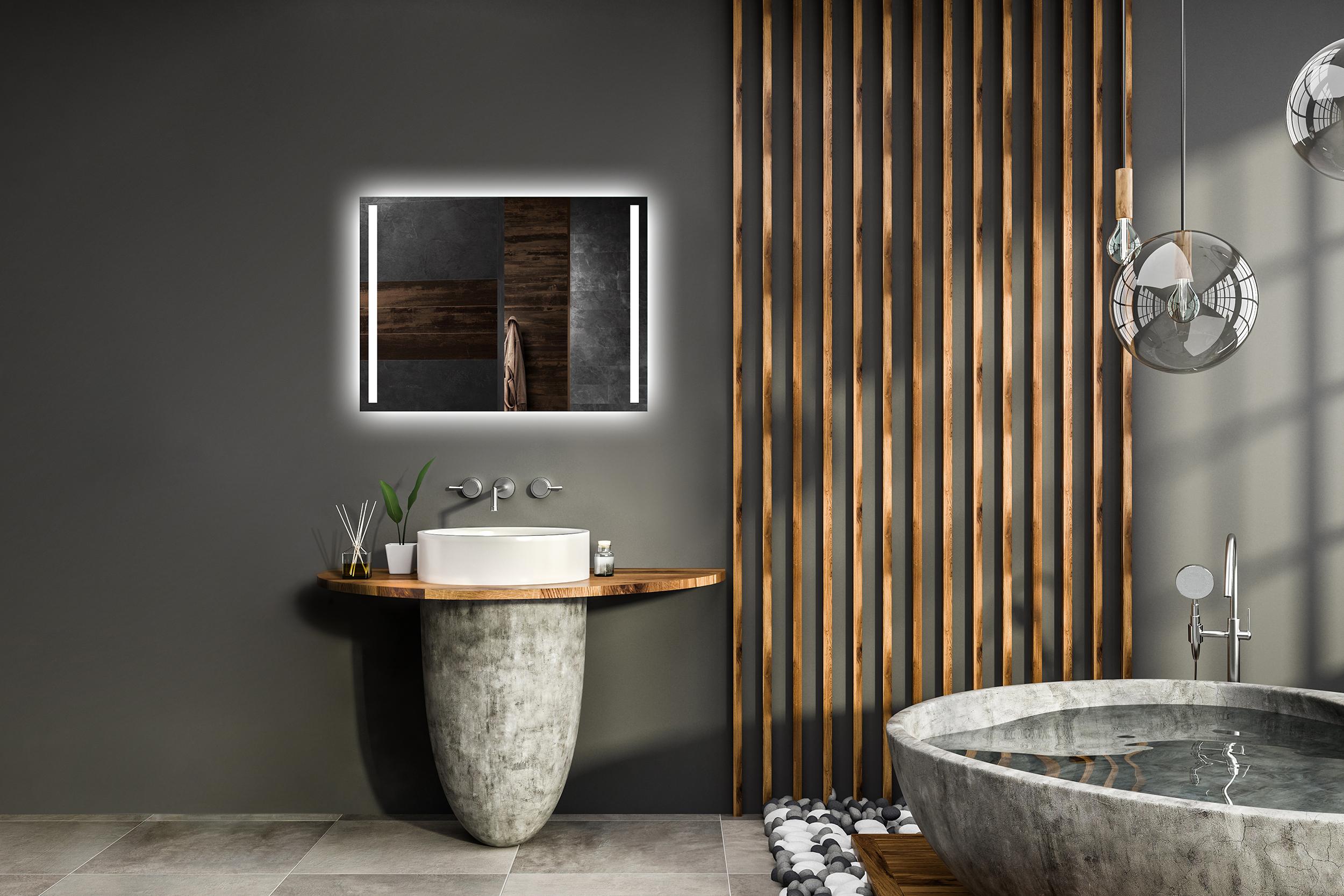 Paket Led Badspiegel Beleuchtung Sensor Schalter Hollywood Wandspiegel Beleuchtet