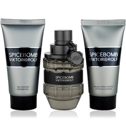 Viktor & Rolf Spicebomb Eau de Toilette 50ml + Shower Gel 50ml + After Shave Balm 50ml