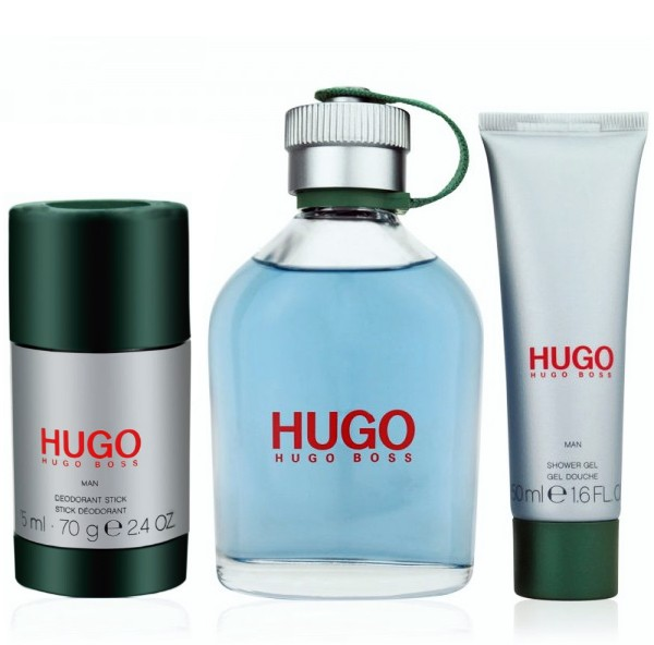 Hugo Boss Hugo Eau de Toilette 125ml + Deo Stick 75ml + Shower Gel 50ml