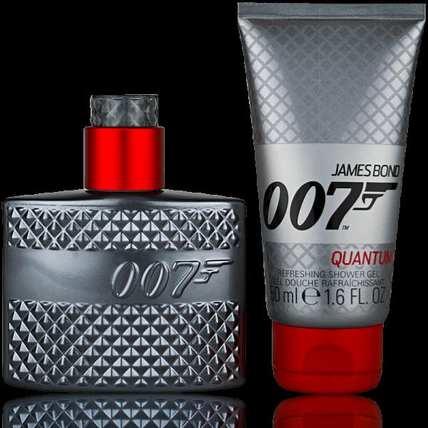 James Bond 007 Quantum Eau de Toilette 30ml + Shower Gel 50ml