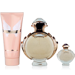 Paco Rabanne Olympea Eau de Parfum 80ml + Body Lotion 100ml + EdP Mini 6ml