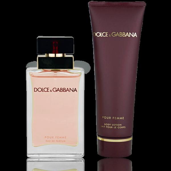 Dolce   Gabbana Pour Femme Eau de Parfum 25ml + Body Lotion 50ml ... 44dae0e3e993