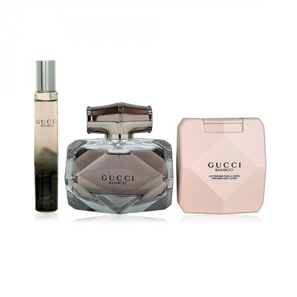 Gucci Bamboo Eau de Parfum 75ml + Body Lotion 100ml + Mini EdP 7,4ml Set