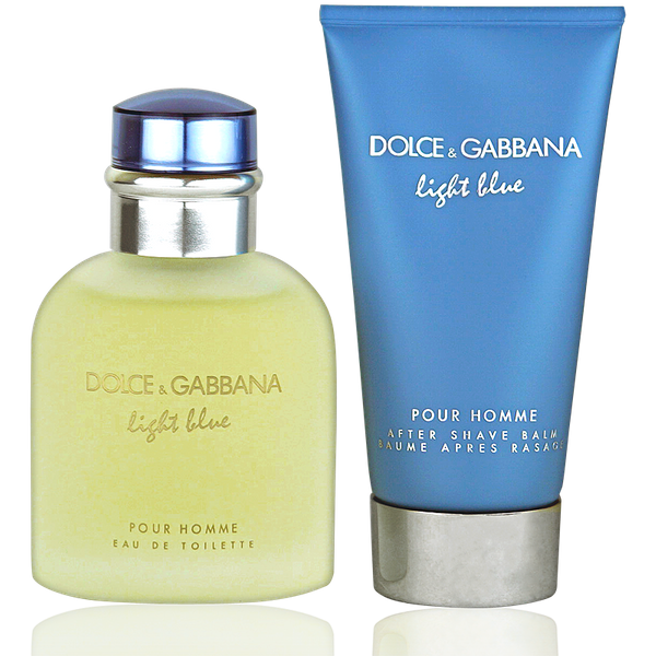 Dolce & Gabbana Light Blue for Men Eau de Toilette 75ml + After Shave Balm 75ml