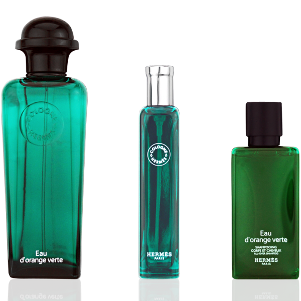 Hermès Eau d'Orange Verte Eau de Cologne 100ml + Eau de Cologne 15ml + Shower Gel 50ml