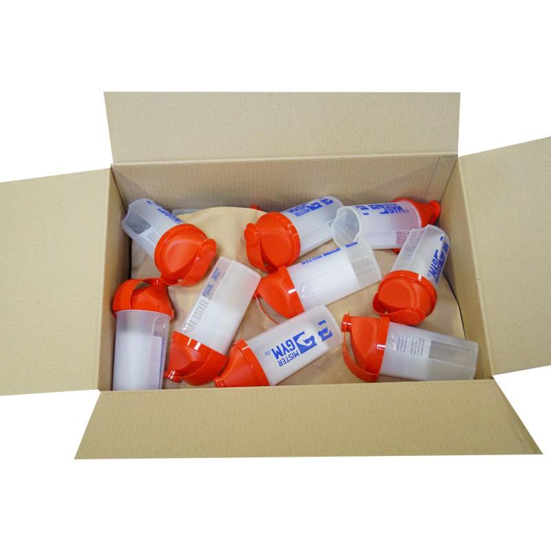 Buchsteiner MixStar Shaker 500ml eine Kiste mit 36 Shakern rot oder blau