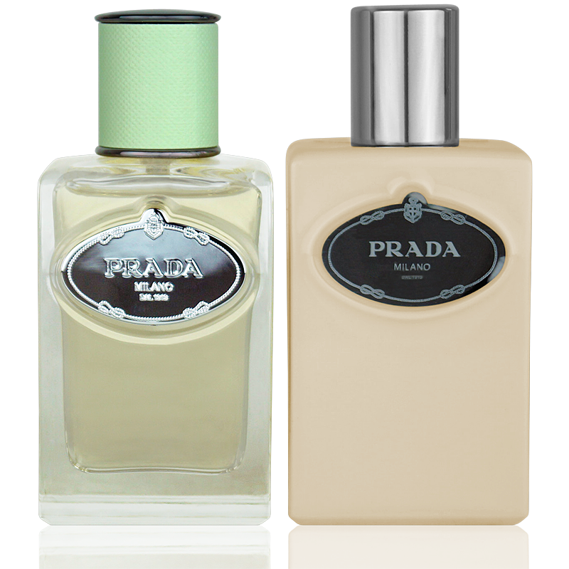 Prada Infusion D'Iris Eau de Parfum 50ml + Body Lotion 100ml