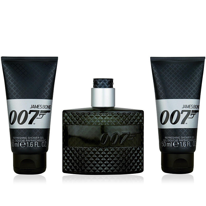 James Bond 007 Eau de Toilette 50ml + 2x Shower Gel 50ml