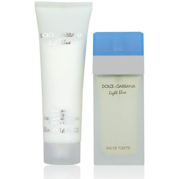 Dolce & Gabbana Light Blue Set 25ml Eau de Toilette + 50ml Body Lotion