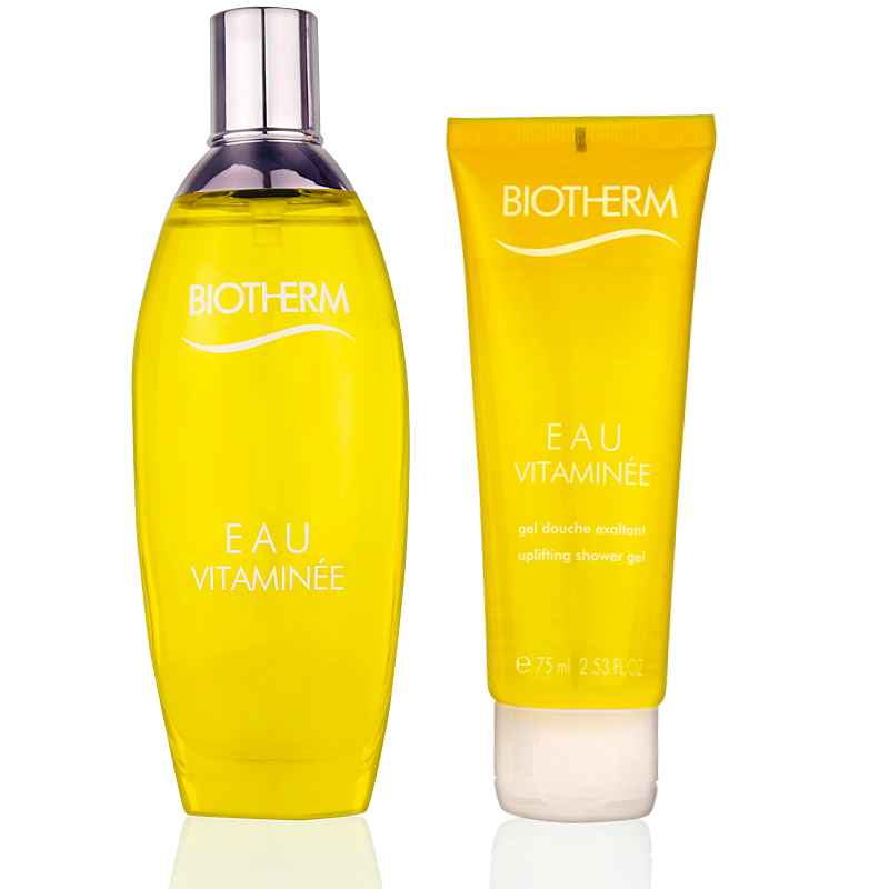 Biotherm Eau Vitamineé Geschenkset Eau de Toilette 100ml + Shower Gel 75ml