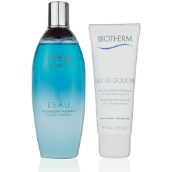 Biotherm L'Eau Coffret Geschenkset Eau de Toilette 100ml + Shower Gel 75ml