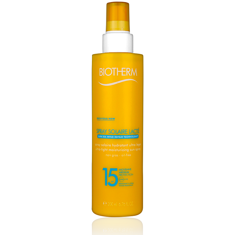 Biotherm Spray Solaire Lacté Oil-Free LSF15 200ml