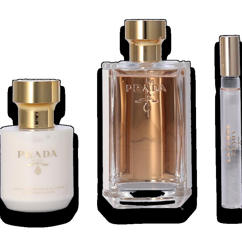 Prada La Femme Eau de Parfum 100ml + Body Lotion 100ml + Mini 10ml