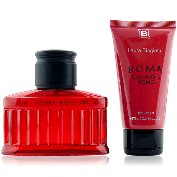 Laura Biagiotti Roma Passione Uomo Eau de Toilette 75ml + Shower Gel 75ml