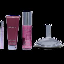 Calvin Klein Euphoria Set Eau de Parfum 100ml + Bodylotion 100ml + 2 weitere Produkte