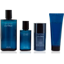 Davidoff Cool Water EdT 125ml + EdT 40ml + 75ml SG + 75ml Deo Stick