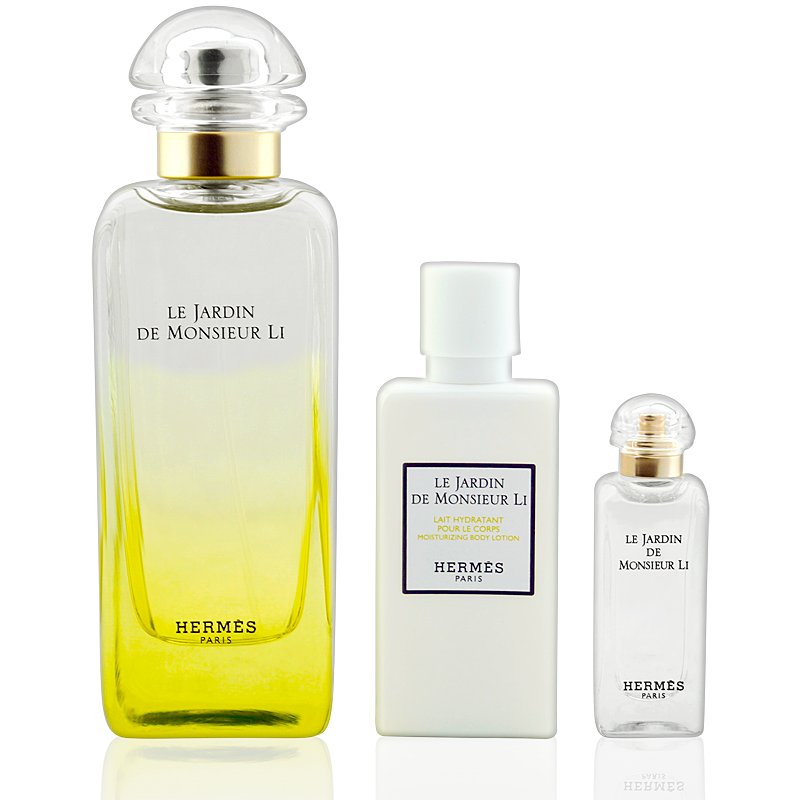 Hermès Le Jardin de Monsieur Li EdT 100ml + Body Lotion 40ml + Mini 7,5ml