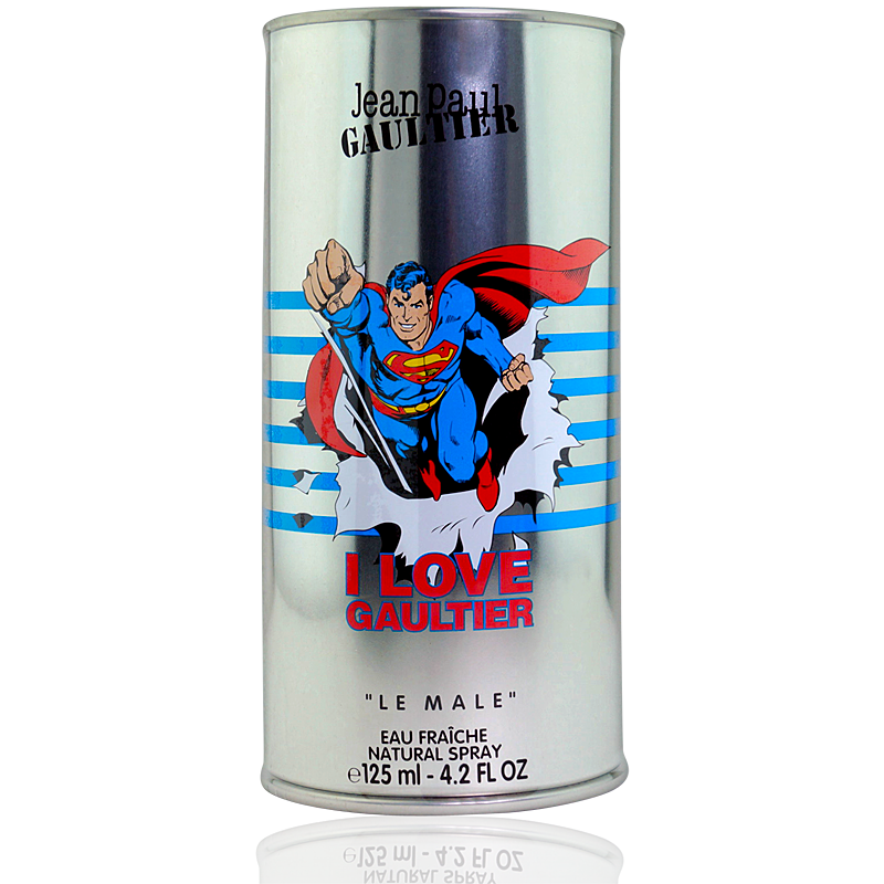 Jean Paul Gaultier Le Male Eau Fraiche Superman Edition Eau de Toilette 125ml