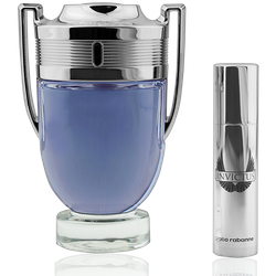 Paco Rabanne Invictus Eau de Toilette 100ml + Mini 10ml