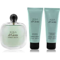 Giorgio Armani Acqua di Gioia Eau de Toilette 100ml + Shower Gel 75ml + Body Lotion 75ml