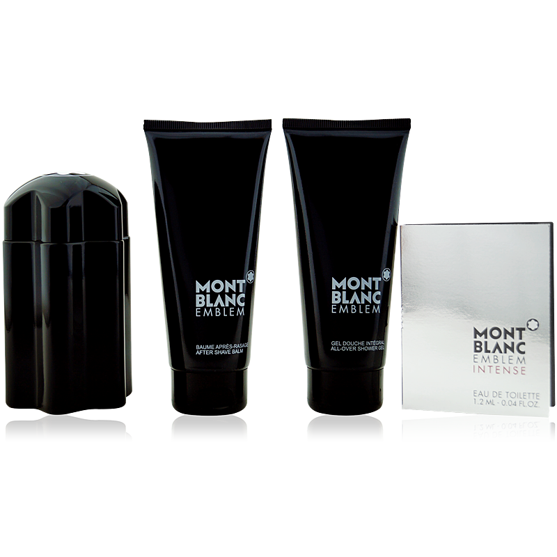 Mont Blanc Emblem Eau de Toilette 100ml + AS 100ml + SG 100ml + Mini 1,2ml