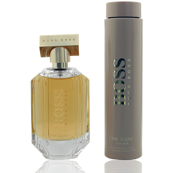 Hugo Boss The Scent For Her Geschenkset Eau de Parfum 100ml + Body Lotion 200ml