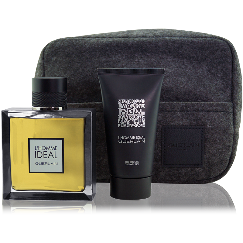 Guerlain L'Homme Ideal Set Eau de Toilette 100ml + SG 75ml  + Tasche