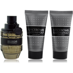 Viktor & Rolf Spicebomb Eau de Toilette 50ml + Rasiergel 50ml + After Shave Balm 50ml