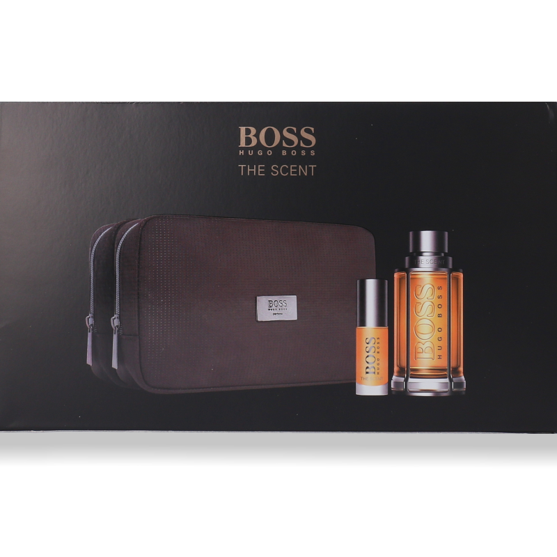 Hugo Boss The Scent Eau de Toilette 100ml + Mini 8ml + Tasche
