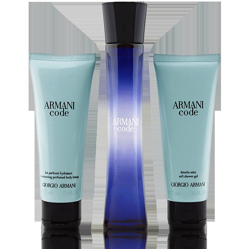 Giorgio Armani Code Femme Set Eau de Parfum 50ml + Body Lotion 75ml + Shower Gel 75ml