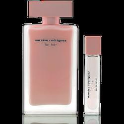 Narciso Rodriguez for Her Eau de Parfum 100ml + Mini 10ml