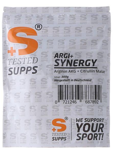 Tested Supps Arginin ARGI+ Synergy Arginin AKG+ Citrullin Malat Pulver, 300g