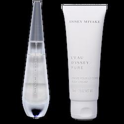 Issey Miyake L'Eau D'Issey Pure Eau de Parfum 30ml + Body Cream 75ml