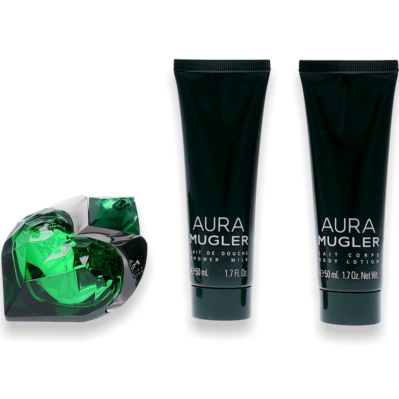 Thierry Mugler Aura Eau de Parfum 30ml + Body Lotion 50ml + Shower Gel 50ml