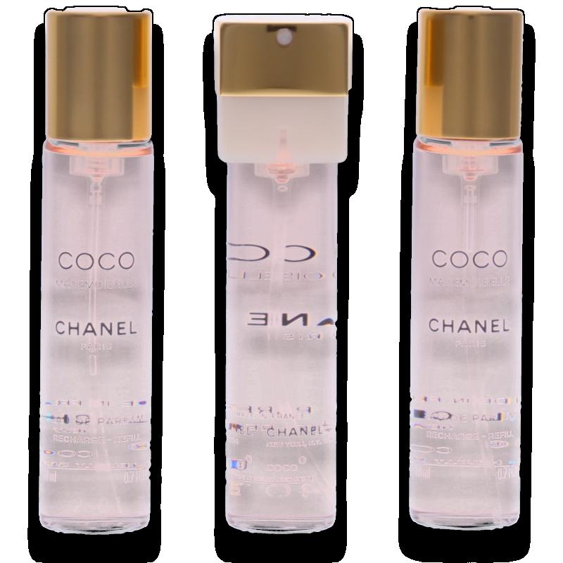 Chanel Coco Mademoiselle Nachfüllung Eau de Parfum 3 x 20ml